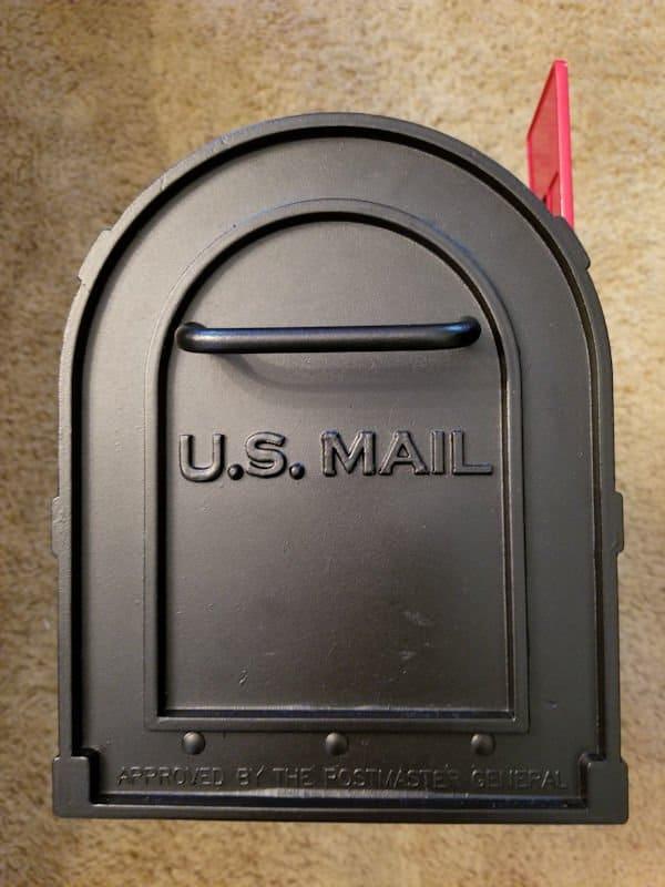 Black Mailbox