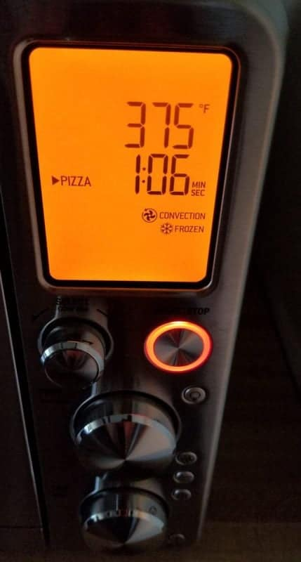 breville air fryer pizza