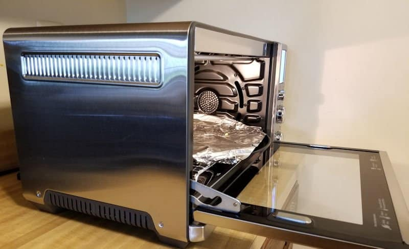 breville smart oven side view